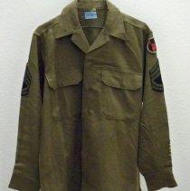 Image of Uniform - U. S. Army uniform shirt-World War II-Hugo Saar