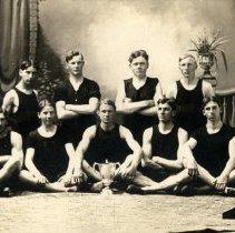 Image of Postcard - 1909 Hutchinson Track & Field Champions-postcard
