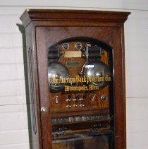 Image of Alarm, Burglar - Bank vault burglar alarm system