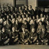 Image of Postcard - Senior Class of 1915, Hutchinson, MN