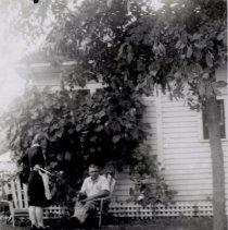 Image of Print, Photographic - Ervin and Hattie Born