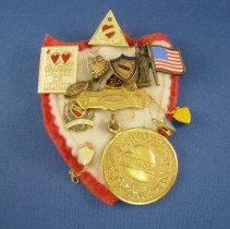 Image of Pin, Fraternal - Degree of Honor pin collection