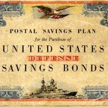Image of Booklet - WWII Postal savings book