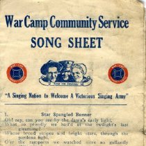 Image of Booklet - WWII song sheet