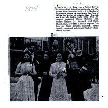 Image of Print, Photographic - 1915 Senior Day, Hutchinson