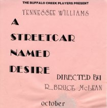 Image of Poster - Poster: A Streetcar Names Desire