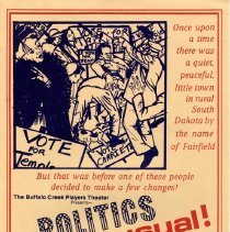 Image of Poster - Poster: Politics Unusual
