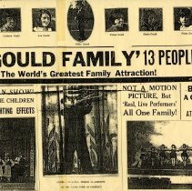Image of Poster - Poster: The Gould Family