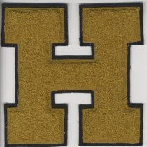 Image of Badge, Insignia - Hutchinson High School athletic letter