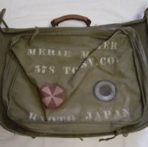 Image of Suitcase - Military luggage-Merle L. Maher
