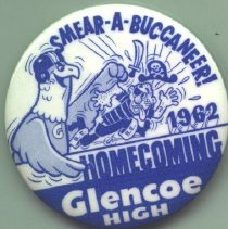 Image of Button, Promotional - Glencoe Homecoming Button