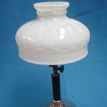 Image of Lamp, Kerosine - Kerosene parlor lamp