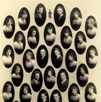 Image of Print, Photographic - Stevens Seminary Class of 1915