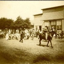 Image of Print, Photographic - Lester Prairie parade, 1906