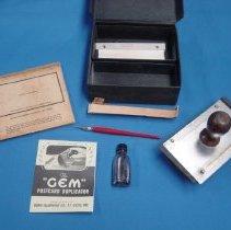 Image of Duplicator - Gem postcard duplicator kit