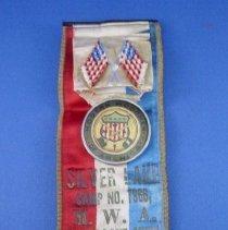 Image of Ribbon, Fraternal - Modern Woodmen of America CAmp No. 7966, Silver Lake