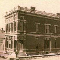 Image of Print, Photographic - McLeod County Bank, Glencoe c. 1883