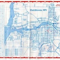Image of Map - Hutchinson, MN map