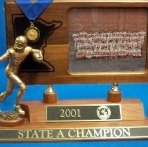 Image of Trophy: 2001 State A Champion McLeod West