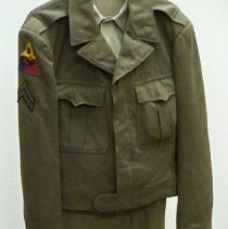 Image of Uniform - Army uniform-Edwin F. Albrecht-WWII, 1942-1945