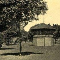 Image of Postcard - Bandstand at Lincoln Park, Glencoe, MN-postcard