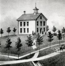 Image of Print, Photographic - Stevens Seminary, Glencoe