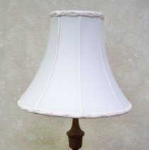 Image of Lamp - Lamp with wooden base