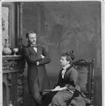 Image of Print, Photographic - Oliver Dennett Hutchinson &  Nellie Drew Hutchinson