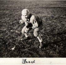 Image of Print, Photographic - Bernard Beach, 1937 Hutch HS quarterback