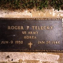 Image of Print, Photographic - Roger F. Telecky, Bohemian National Cemetery
