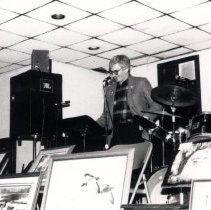 Image of Print, Photographic - Senator Rudy Boschwitz & Bill Farmer @ Les Kouba Tribute1-31-1987