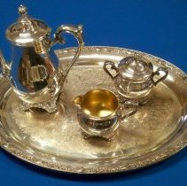 Image of Service, Coffee - Silver coffee service