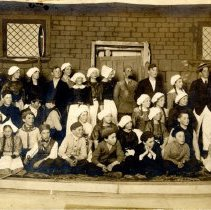 Image of Print, Photographic - Operetta cast, 1909, Hutchinson MN