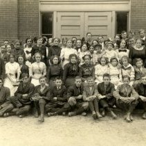 Image of Postcard, Picture - Class of 1915 (c. 1912), Hutchinson, MN