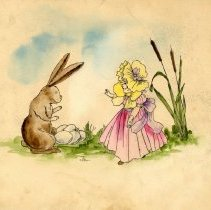 Image of Drawing - Easter picture