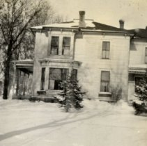 Image of Print, Photographic - Minnie Kriger home, formerly George Snere house