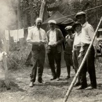 Image of Print, Photographic - Lerbergs Camping in Glacier Park, 1926