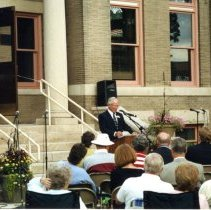 Image of Print, Photographic - Hutchinson Library Centennial, 2004
