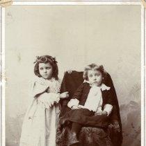 """Image of Print, Photographic - Ottilia """"Ottie"""" Gennrich  and Wm. F. """"Billy"""" Gennrich"""