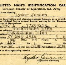 Image of Card, Identification -