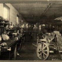 Image of Print, Photographic - Old Hartelt Motor Company, Glencoe