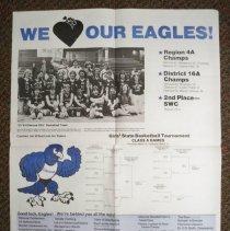 Image of Poster - Glencoe Girls' Basketball, 1984