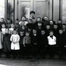 Image of Print, Photographic - Plato Public School Class of 1909