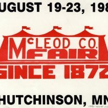 Image of Poster - McLeod County Fair poster