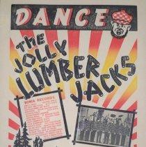 Image of Poster - Jolly Lumber Jacks poster, 1961