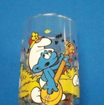 Image of Novelty, Promotional - Harmony Smurf water glass