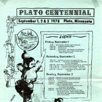 Image of Poster - Plato Centennial poster
