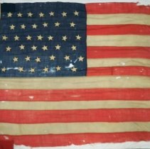 Image of Flag - 38 star American flag