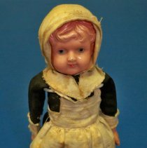 Image of Doll - Thanksgiving Pilgrim doll