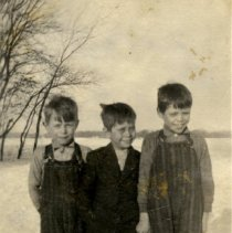 Image of Print, Photographic - Henry Voigt, Freddie Voigt, Ernie Voigt